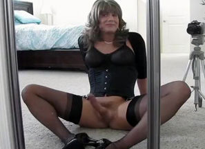 Splendid first-timer transgender..