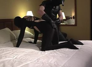 Latex Slapping And Blowing - Sequence 3
