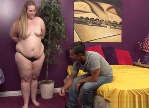 Romp with obese on webcam