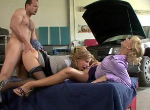 2 Smoking Super-steamy Blondes Get..