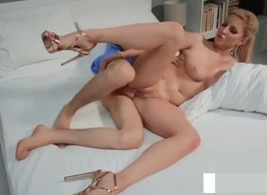 Ash-blonde Step Mom