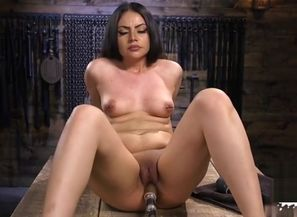 Brazilian porn industry star faux-cock..