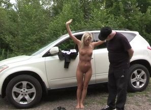 ENF made to undress in public for tow