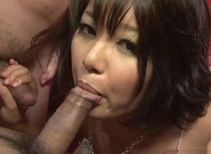 Exotic sex industry stars Mito Ayase,..