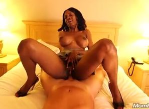 Black anal invasion chubby 2