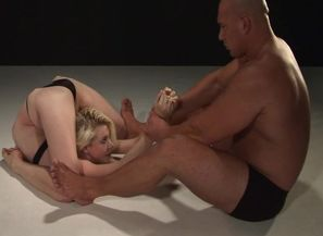 Ultra-kinky hump flick Ash-blonde..