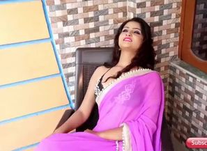 Susmita purple saree look002