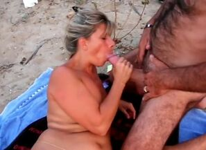 Lisa hotwife at the cap d'agde beach..