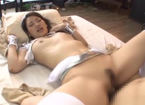 Allurring Chinese beauty Wakana Nao in..